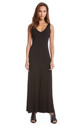 Women's Karen Kane 'Alana' Double V Neck Maxi Dress