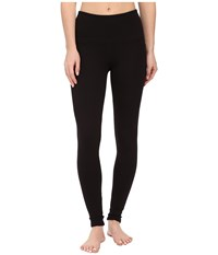 Jag Jeans Huxley High Rise Leggings In Double Knit Ponte Black Women's Casual Pants