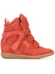 Etoile Isabel Marant Bekett Sneakers Yellow Orange