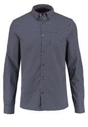 Burton Menswear London Shirt Dark Blue