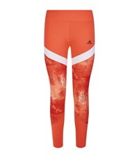 Adidas Wow Drop 4 Long Tights Female Orange