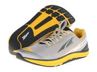 Altra Zero Drop Footwear Torin 1.5 Gray Lemon Chrome Men's Running Shoes