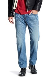 True Religion Ricky Relaxed Straight Jean With Flap Pockets Blue