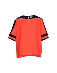 American Retro Blouses Coral