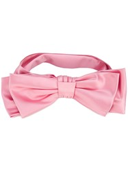 Gucci Bow Headband Women Silk One Size Pink Purple