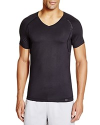 Hanro Modal Stretch V Neck Tee Black