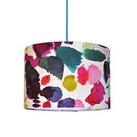 Bluebellgray Abstract Lampshade 40Cm