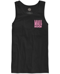 Maui And Sons Fish Out Of Water Tank Black With Pink