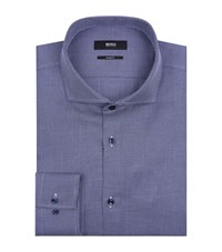 Boss Micro Diamond Shirt Male Navy