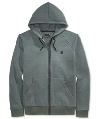 Tavik Men's Zip Up Hoodie Heather Evergreen