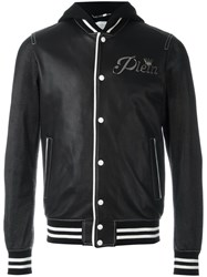 Philipp Plein 'Troublemaker' Bomber Jacket Black