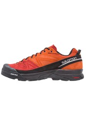 Salomon X Alp Walking Shoes Black Red