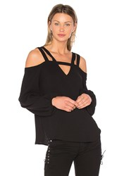 Bcbgmaxazria Tina Top Black