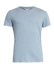 Orlebar Brown Ob T Cotton T Shirt Light Blue