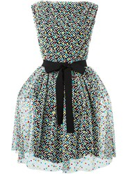 Christopher Kane 'Crazy Tweed' Tulle Dress Multicolour