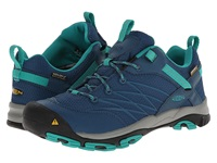 Keen Marshall Wp Indian Teal Dynasty Green Women's Hiking Boots Blue