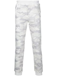 Loveless Camouflage Trousers Men Cotton Polyester Tencel 0 White