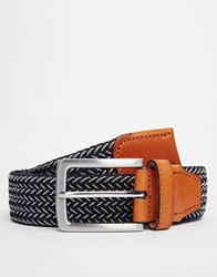 Selected Homme Bennet Belt Blue