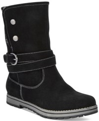 White Mountain Powder Cold Weather Boots Women's Shoes Black