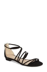 Klub Nico Janelle Sandal Black Nubuck Leather
