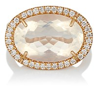 Irene Neuwirth Women's Diamond And Water Opal Ring No Color