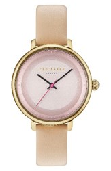 Ted Baker Women's London Isla Round Leather Strap Watch 36Mm
