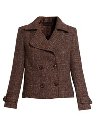 Urban Touch Wool Short Jacket Brown