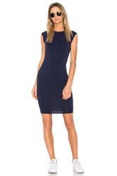 Lamade Obi Dress Navy