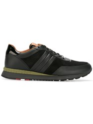 Bally Panelled Sneakers Black