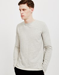 Edwin Terry Long Sleeved T Shirt Grey