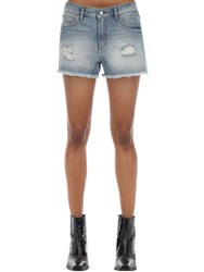 Zadig And Voltaire Cotton Denim Shorts