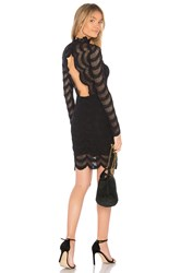 Nightcap Classic Fiesta Fan Mini Dress Black