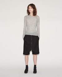 Lost And Found Pleated Skirt Pant Black