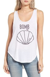 Rip Curl Women's Bomb Shell Graphic Tank White