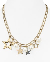 Aqua Odell Star Charm Necklace 20 100 Exclusive Gold