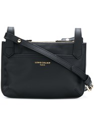 Longchamp Small Zipped Shoulder Bag Black