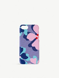 Soda Sunglasses Sally Cheung Hibiscus Blue Iphone 7 8 Case