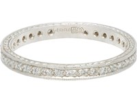 Cathy Waterman Eternity Band No Color
