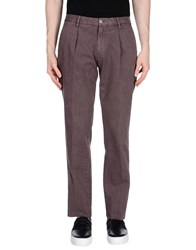 Santaniello And B. Casual Pants Purple