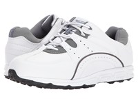 Footjoy Golf Specialty Spikeless Athletic White Grey Golf Shoes