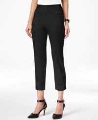 Styleandco. Style And Co. Cropped Skinny Pants Only At Macy's Deep Black