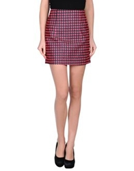 Antipodium Mini Skirts Fuchsia