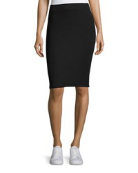 Atm Anthony Thomas Melillo Pull On Knit Tube Skirt Black