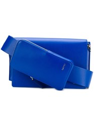 Lanvin Purse Satchel Blue