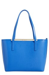 Ted Baker London 'Small Hydrangea' Shopper Blue Light Blue