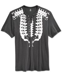 Inc International Concepts Spine Graphic T Shirt Only At Macy's Dark Lead