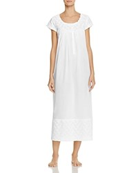 Eileen West Long Ballet Nightgown White