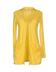 Kaos Knitwear Cardigans Women Yellow