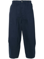 Societe Anonyme Shinjuku Trousers Unisex Cotton L Blue