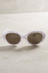 Anthropologie Palm Beach Sunglasses White